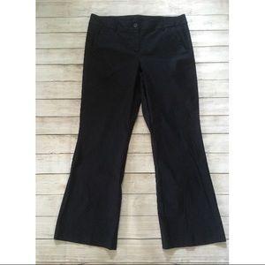 Lane Bryant | Dark Navy Flare Trousers